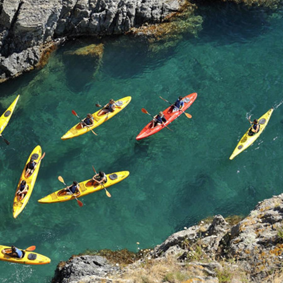 Kayak de mer à Banyuls-Cerbère (66)