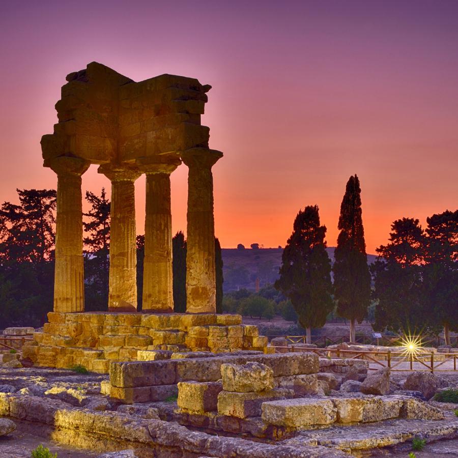 Temple romain Agrigento (Sicile)